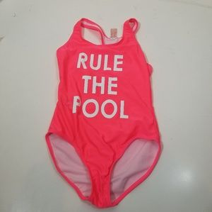 Cat Jack Rule the Pool Swimsuit One Piece 10 12